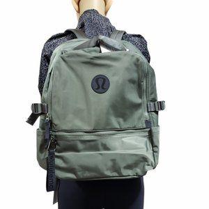 Lululemon Unisex New Crew Backpack- Army Green